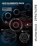 infographic elements.... | Shutterstock .eps vector #299676398