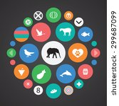 ecology icons universal set for ... | Shutterstock .eps vector #299687099