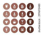 drinks icons universal set for... | Shutterstock .eps vector #299693480