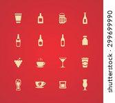 drinks icons universal set for... | Shutterstock .eps vector #299699990