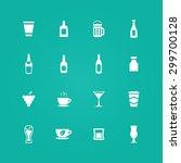 drinks icons universal set for... | Shutterstock .eps vector #299700128