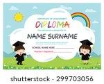 preschool elementary school... | Shutterstock .eps vector #299703056