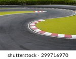 radio controlled car racing... | Shutterstock . vector #299716970