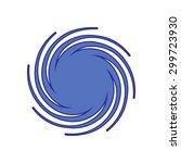 logo of energy of water. web... | Shutterstock .eps vector #299723930