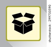 box sign icons  vector...   Shutterstock .eps vector #299733590