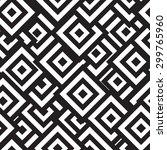 vector seamless rhombus... | Shutterstock .eps vector #299765960