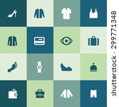 clothes icons universal set for ... | Shutterstock . vector #299771348
