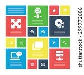 computer icons universal set...   Shutterstock . vector #299772686