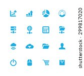 development  soft icons... | Shutterstock . vector #299817020