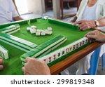 Mahjong Table Game On Of...
