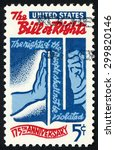 united states   circa 1966 ... | Shutterstock . vector #299820146