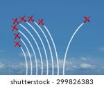 independent innovation and new... | Shutterstock . vector #299826383