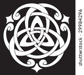 vector illustration of celtic... | Shutterstock .eps vector #29984296