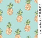 vector seamless pattern of... | Shutterstock .eps vector #299848118