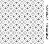 seamless geometric pattern... | Shutterstock .eps vector #299869043