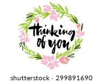 flower pattern. wedding.... | Shutterstock .eps vector #299891690