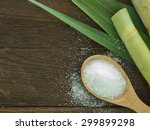 sugar produced from sugar cane. ... | Shutterstock . vector #299899298