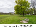 outdoor greenery field   Shutterstock . vector #299900180