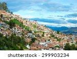 cityscape of cusco in peru | Shutterstock . vector #299903234