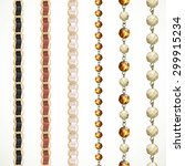 chain belt with variations of... | Shutterstock .eps vector #299915234