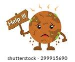 illustration cartoon character... | Shutterstock .eps vector #299915690