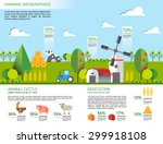 set of farm design element.... | Shutterstock .eps vector #299918108