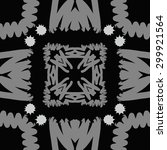 circular seamless  pattern of... | Shutterstock .eps vector #299921564