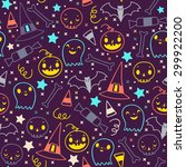 seamless vector pattern of... | Shutterstock .eps vector #299922200
