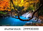 amazing beauty of asian nature. ... | Shutterstock . vector #299930300