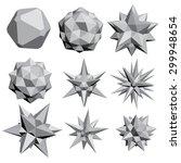 vector illustration set with... | Shutterstock .eps vector #299948654