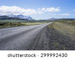 Deserted Icelandic Tarmaced...