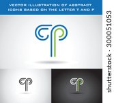vector illustration of abstract ... | Shutterstock .eps vector #300051053