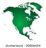 north america. vector map... | Shutterstock .eps vector #30006454
