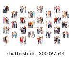 office culture united company  | Shutterstock . vector #300097544
