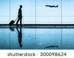travel concept  people in the... | Shutterstock . vector #300098624