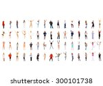 workforce concept business idea  | Shutterstock . vector #300101738