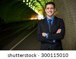 businessman executive portrait...   Shutterstock . vector #300115010