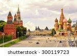 Kremlin And St Basil's...