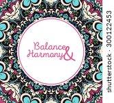 greeting card design template....   Shutterstock .eps vector #300122453