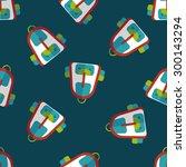 backpack flat icon eps10... | Shutterstock .eps vector #300143294