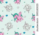 children's illustration with... | Shutterstock .eps vector #300183020