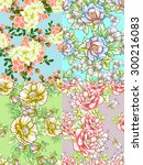 abstract elegance seamless...   Shutterstock . vector #300216083