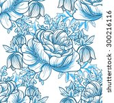 abstract elegance seamless... | Shutterstock . vector #300216116