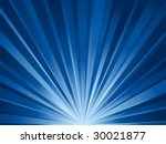 abstract blue rays background.... | Shutterstock .eps vector #30021877