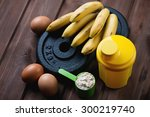 sports training and nutrition...   Shutterstock . vector #300219740