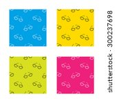 glasses icon. reading accessory ... | Shutterstock .eps vector #300237698