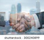 business  partnership ... | Shutterstock . vector #300240899