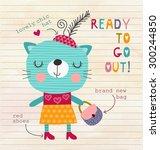 illustration for children | Shutterstock . vector #300244850