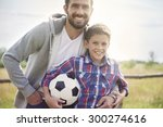 my father always has time to... | Shutterstock . vector #300274616