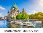 beautiful view of berliner dom  ... | Shutterstock . vector #300277454